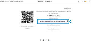 Where to copy Bitcoin Wallet Address